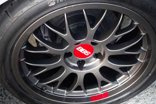 REAR BBS WHEEL