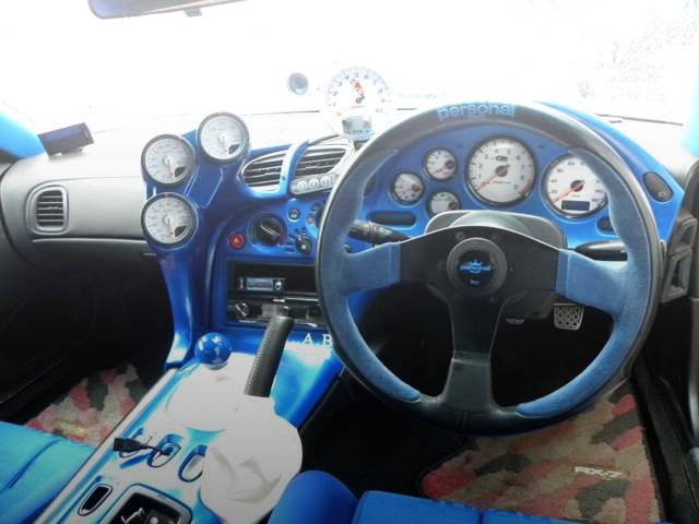 INTERIOR SPEED CULSTER