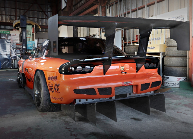 REAR DIFFUSER AND WING RX-7