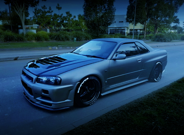 GT-R FULL METAL WIDEBODY ER34 SKYLINE 2-DOOR