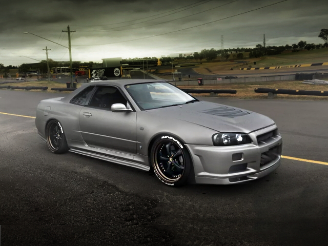FRONT EXTERIOR GT-R WIDE ER34 SKYLINE 2-DOOR