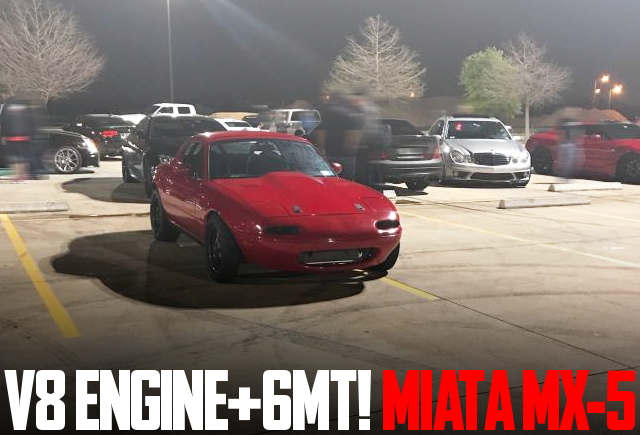 V8 ENGINE AND 6MT FROM MIATA MX5