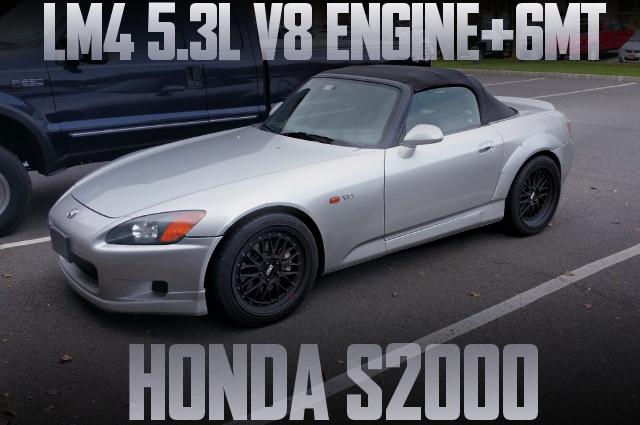 LM4 V8 ENGINE AP1 S2000