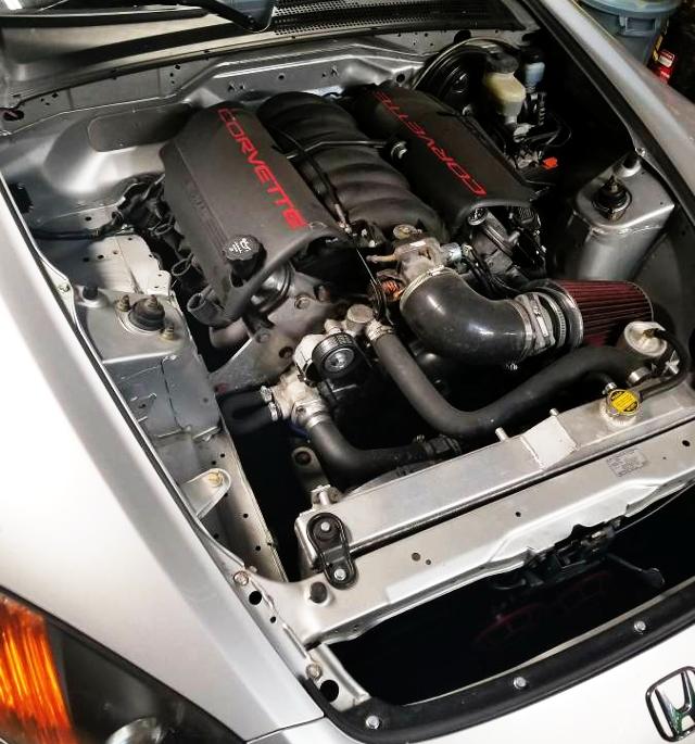 V8 ENGINE INSTALL FOR S2000