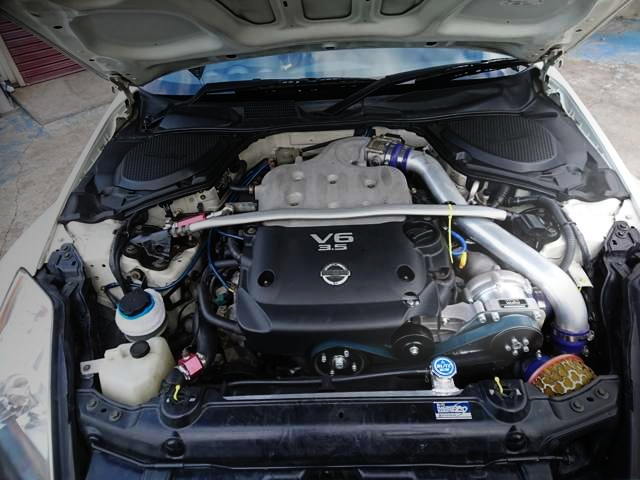 VQ35 WITH SUPERCHARGER