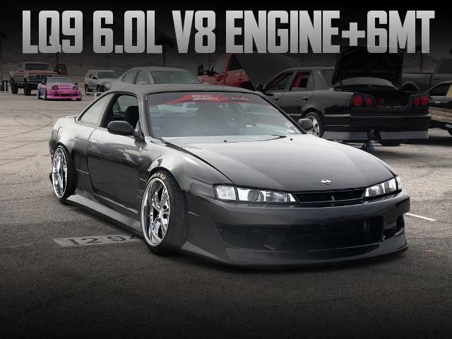 LQ9 6000cc V8 ENGINE 240SX