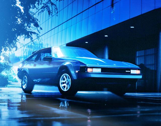 A60 CELICA SUPRA MK2 BLUE