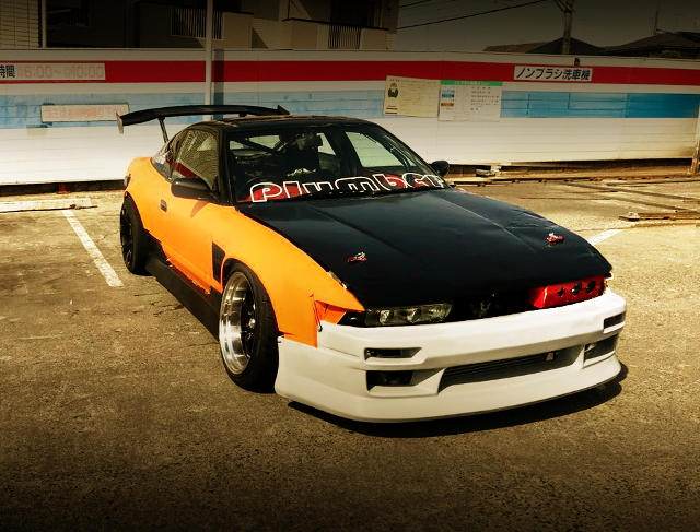 FRONT S13 SILVIA FACE 180SX