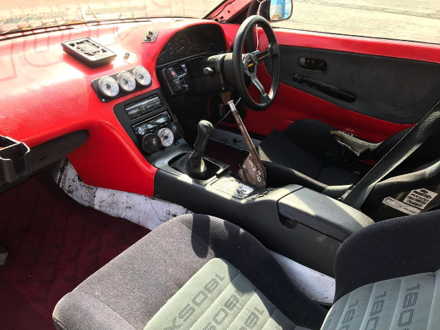 CUSTOM INTERIOR FROM 180SX