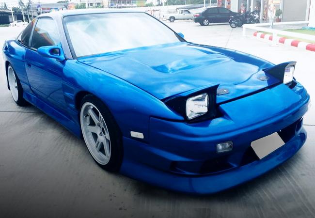 FRONT FACE S13 200SX BLUE
