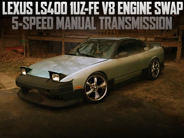 1UZ-FE V8 SWAP 240SX