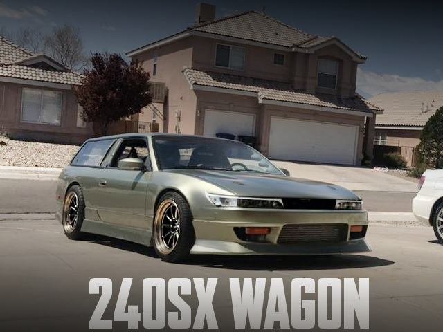 WAGON CONVERSION 240SX
