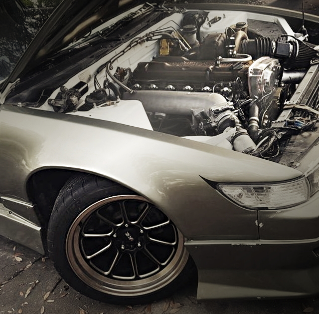 RB25DET ENGINE FROM 240SX WAGON