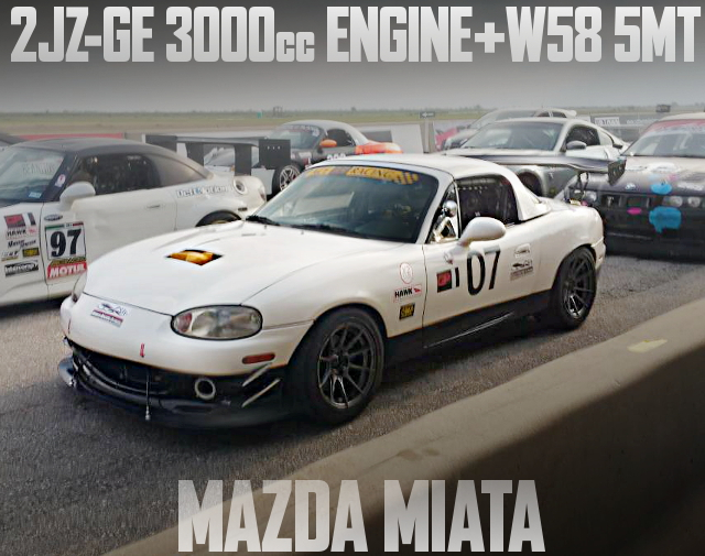 2JZ-GE ENGINE NB MIATA