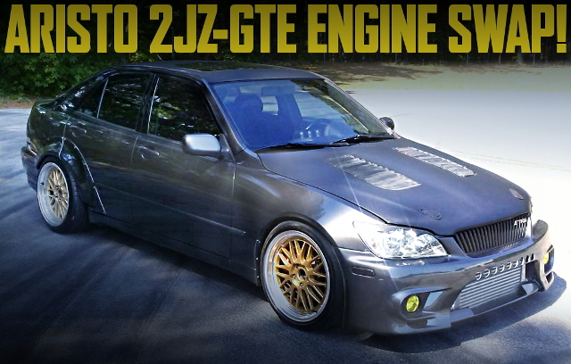 2JZ-GTE SWAP LEXUS IS300