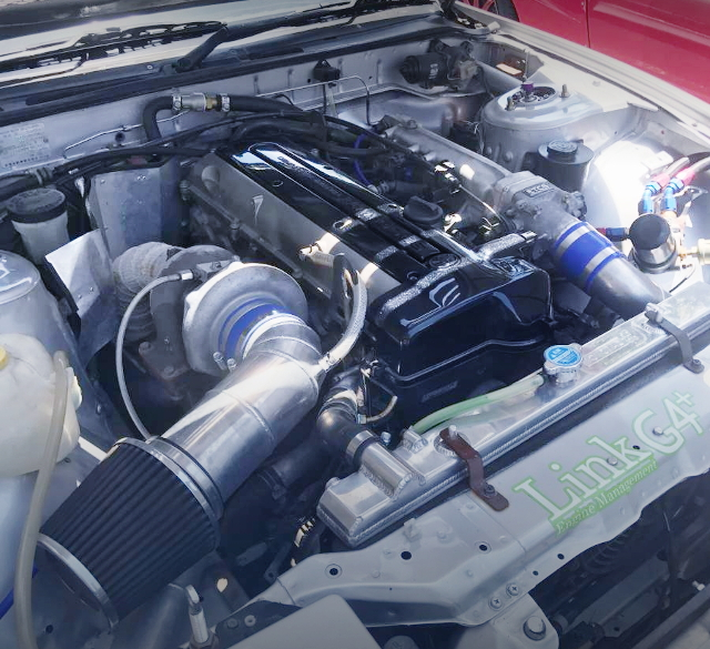 2JZ-GTE ENGINE WITH TO4R TURBO