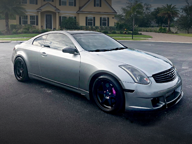 FRONT SIDE V35 INFINITI G35 COUPE