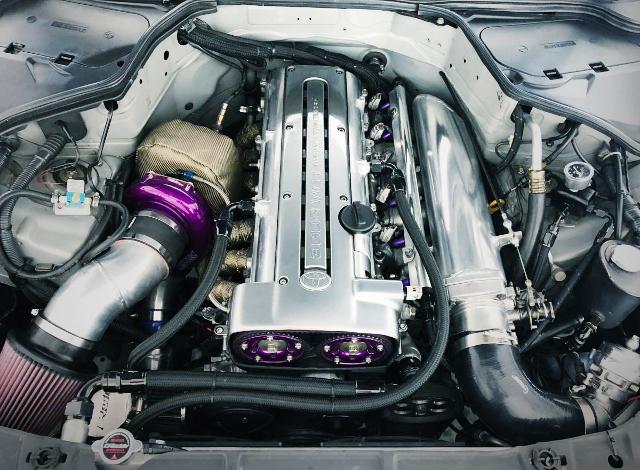 2JZ-GTE ENGINE SINGLE TURBO
