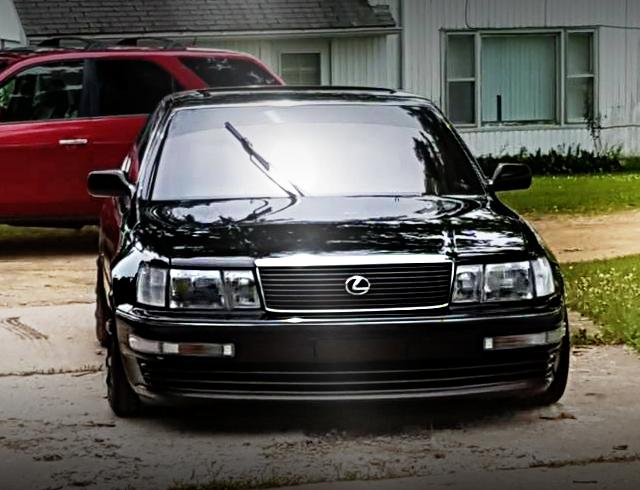 FRONT FACE F10 LEXUS LS400 BLACK