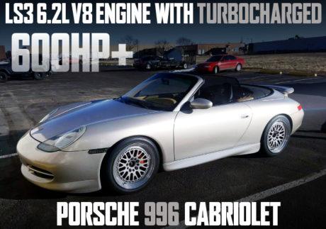 LS3 V8 TURBO PORSCHE 911 CABRIOLET