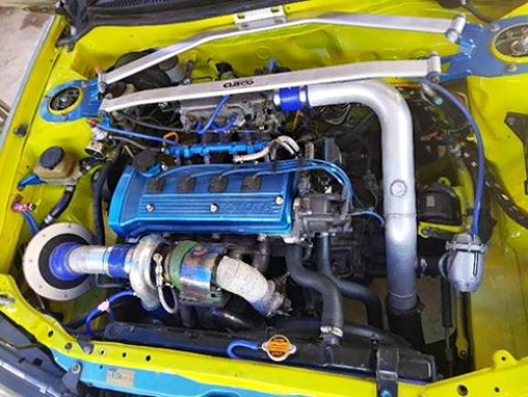 4E-FTE 1300cc TURBO ENGINE