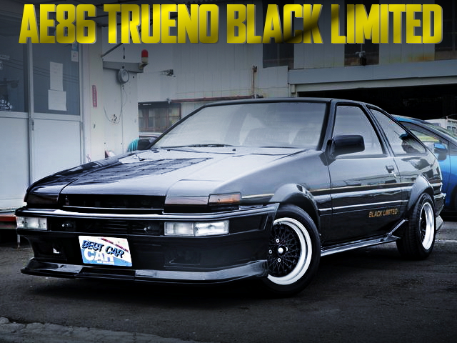 AE86 TRUENO BLACK LIMITED