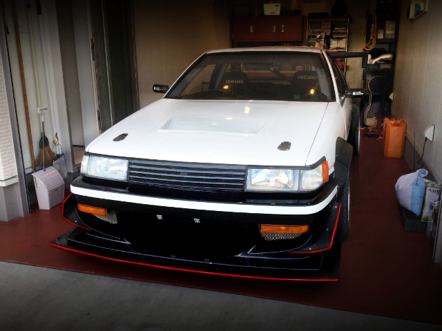FRONT FACE AE86 LEVIN 2-DOOR
