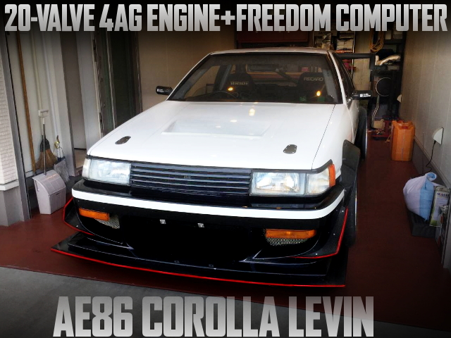 20-VALVE 4AG FULL TUNING AE86 LEVIN