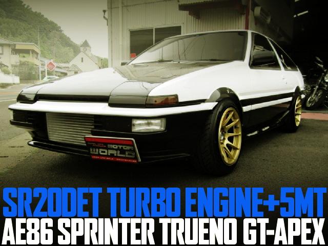 SR20DET TURBO AE86 TRUENO