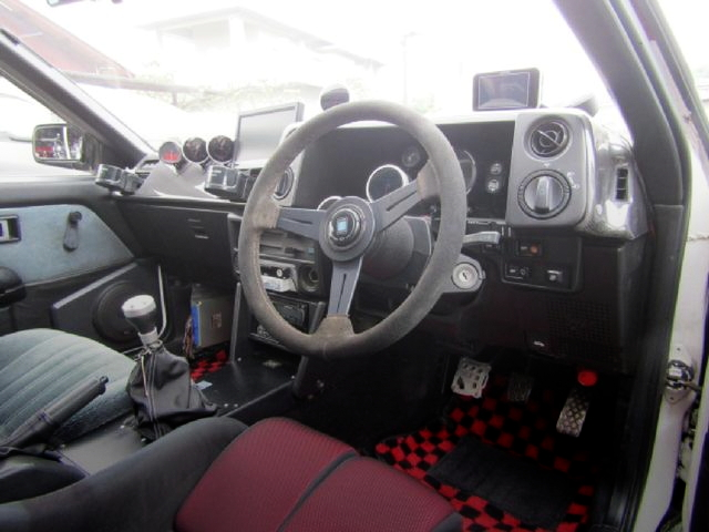 INTERIOR DASHBOARD AE86