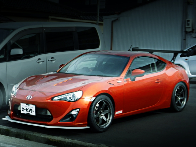 FRONT EXTERIOR TOYOTA86GT
