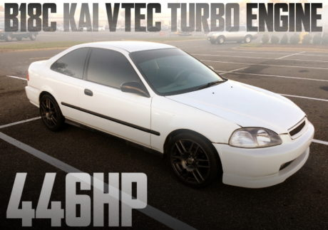 B18C VTEC TURBO CIVIC COUPE