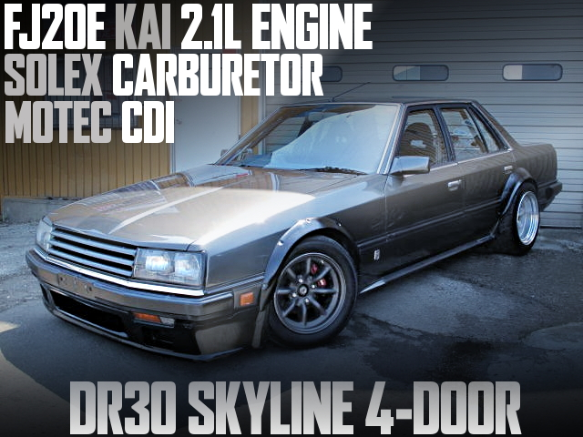 FJ20E 2100cc DR30 SKYLINE 4-DOOR