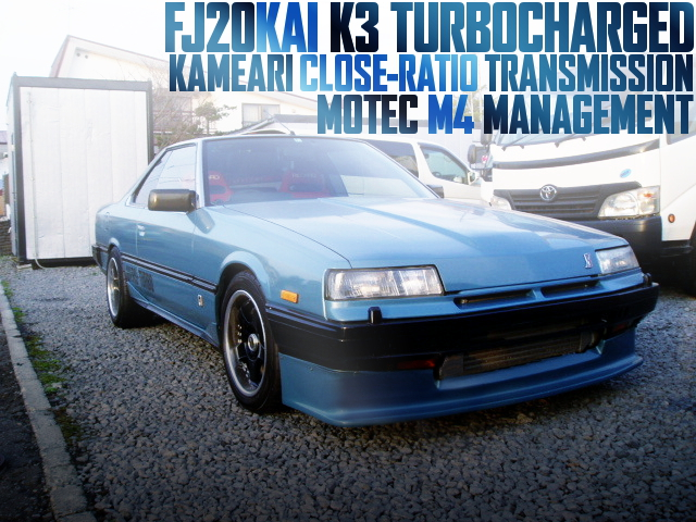 K3 TURBO CLOSE-RATIO MT DR30 SKYLINE