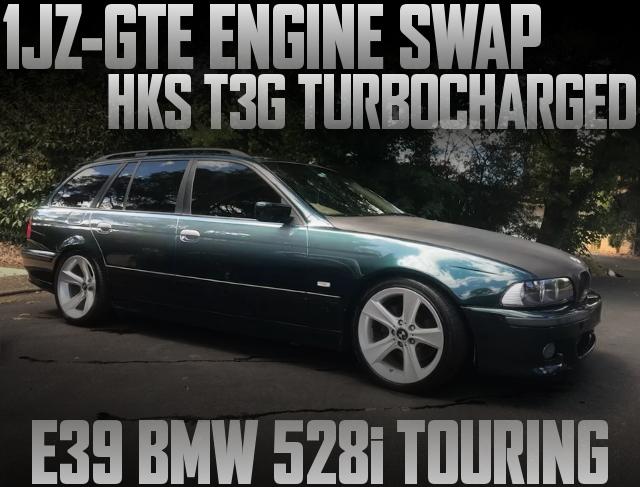 1JZ-GTE T3G TURBO ENGINE E39 BMW528i
