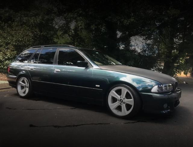 FRONT E39 BMW528i TOURING WAGON