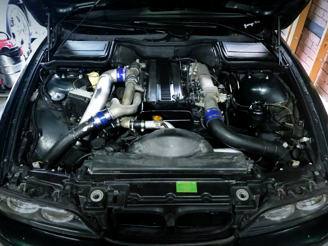 1JZ-GTE ENGINE WITH HKS T3G TURBO
