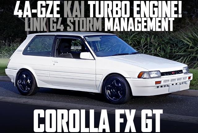 E80 COROLLA FX GT 4AG TURBO