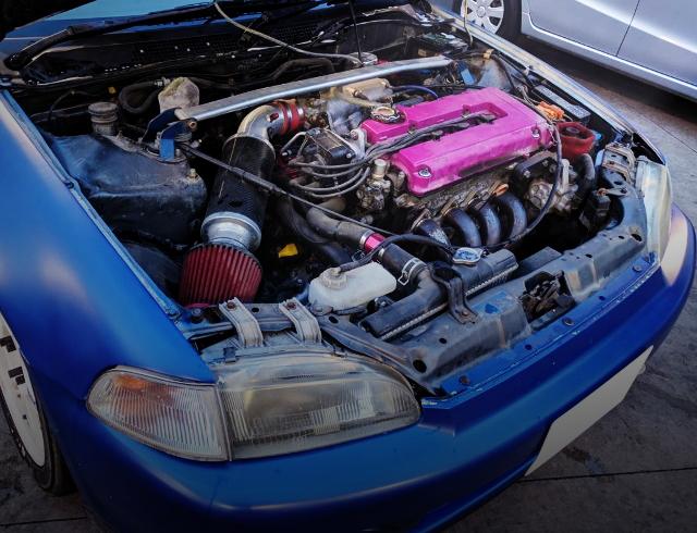 B16B VTEC ENGINE SWAP