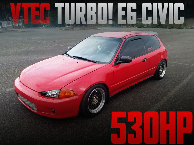 VTEC TURBO EG CIVIC HATCH