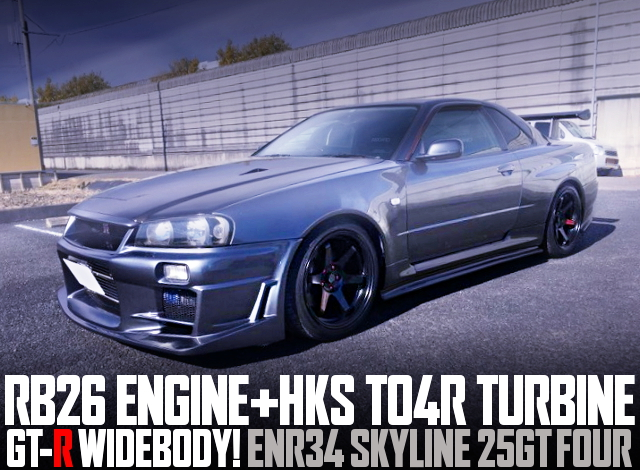 RB26 SWAP GTR WIDEBODY ENR34 SKYLINE