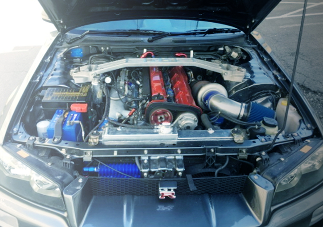 RB26 ENGINE WITH TO4R TURBO