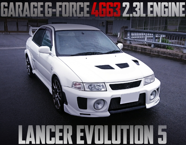 4G63 2300cc CP9A EVO5