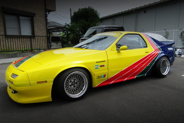 EXTERIOR SIDE FC3S RX-7 GT