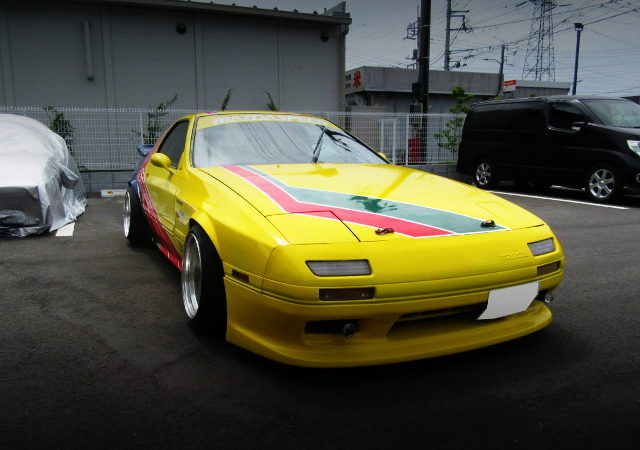 FRONT FACE RX7 GT FC3S