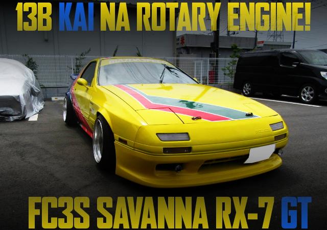 13B KAI NA ROTARY FC3S RX-7 GT
