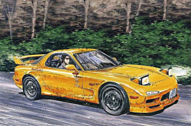 INITIAL D KEISUKE TAKAHASHI RX-7