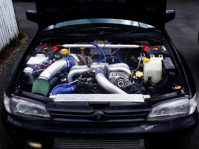 GC8 IMPREZA WRX ENGINE ROOM