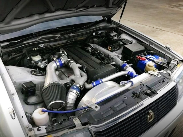 1JZ-GTE TWIN TURBO ENGINE