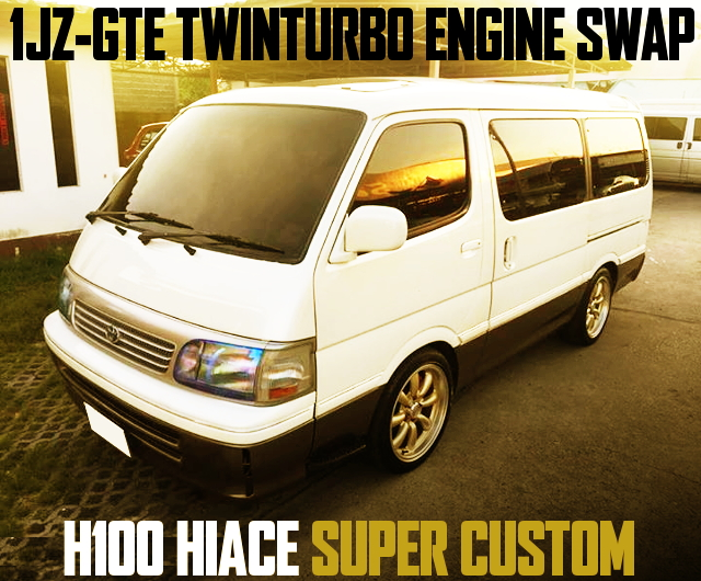 1JZ TWIN TURBO H100 HIACE